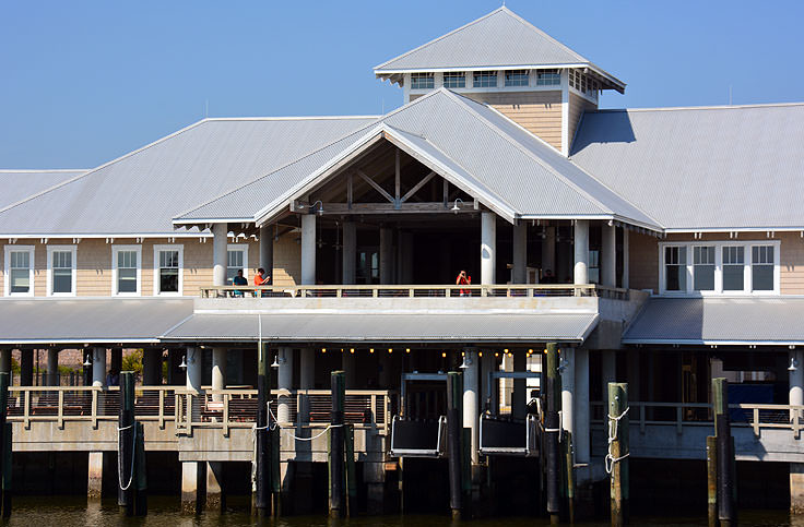 Bald Head Island ferry terminal - Southport side