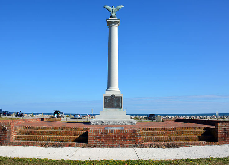 Confederate Memorial at Fort Fisher