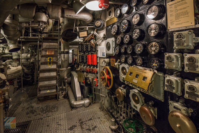 Tour the inside of the USS North Carolina