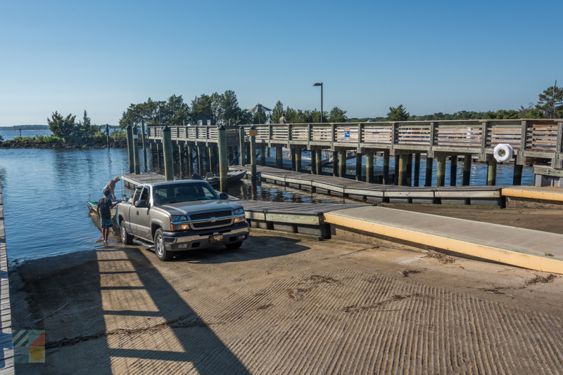 Carolina Beach State Park boat ramp