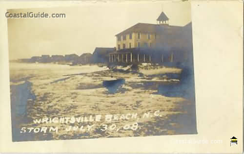 Vintage Ilrations And Photos Of Wrightsville Beach Nc